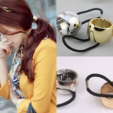 New Punk Toothed Hair Cuff Wrap Rock Metal Circle Ring Ponytail Holder Band