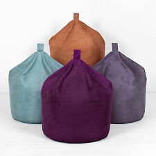 Faux Suede XL Extra Large Adults Childrens Chair Seat Beanbag Bean Bag Filled