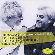 Piano Concerto / Symphony No 2 - Lutoslawski / Zimerman / Rattle / Berliner Phil