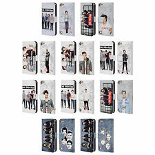 OFFICIAL ONE DIRECTION GROUP PHOTO SOLO LEATHER BOOK CASE FOR APPLE iPOD TOUCH