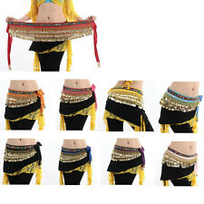 New!!!  Beautiful 248 coins Belly Dance dancing Waist Chain Hip Scarf Costume