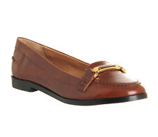 Womens Office Victoria Loafers TAN LEATHER Flats