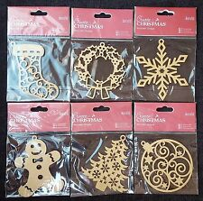 Papermania Create Single Christmas Wooden Shapes