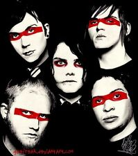 My Chemical Romance Fabric Art Cloth Poster 16inch x 13inch Decor 52