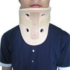 Light Pink Hard Neck Collar Cervical Support Recovery Pain First Aid Neck Brace