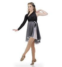 EVENING ENCHANTMENT Ice Skating Dress Ballet Lyrical Dance Costume Child Large