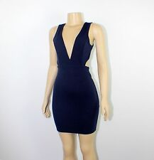 Women Ladies Bodycon Clubwear Sleeveless Open sides Sexy Dress New Free Shipping