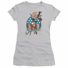 Supergirl Bombshell DC Comics Officially Licensed Junior Graphic Tee Shirt