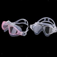 Adult's Large Frame Vision Anti-fog Swimming Goggles Swim Glasses UV Protection
