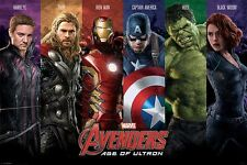 The Avengers Age of Ultron Superheroes Unite Poster 61x91.5cm