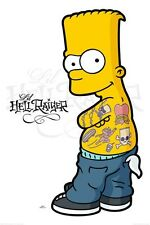 New The Simpsons Lil Hellraiser Bart Simpson Poster