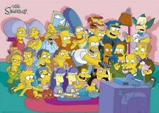 The Simpsons cast on the couch Poster 91.5x60cm