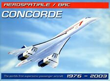 New Supersonic! Concorde Metal Tin Sign