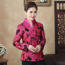 Women New Arrival Coat Chinese Traditional Jacket Outerwear M L XL XXL 3XL 4XL