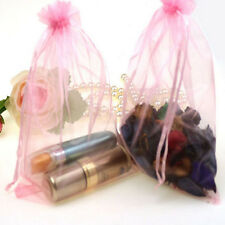 50 Organza Gift Bags Jewellery Christmas Packing Pouches Wedding Party Favour c