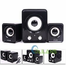 Hot 3.5mm Jack USB Power Wired Computer Speakers Stereo for PC Laptops Desktop
