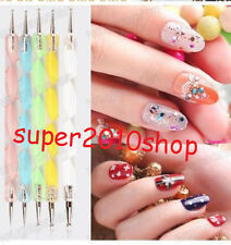 20PC Nail Art UV Gel Painting Drawing Pen Brush Tools Set for Salon Manicure DIY