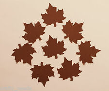 10 PC - Autumn, Maple Leaf , Leaves,  Large Silhouette Die Cuts  Scrapbooking