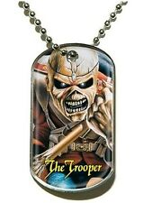 Iron Maiden The Trooper Dog Tag - NEW & OFFICIAL
