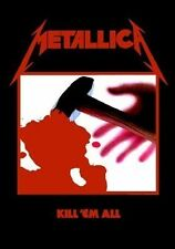 Metallica Kill Em All Textile Flag - NEW & OFFICIAL