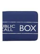 Doctor Who Dr Who Tardis Bi-Fold Blue Dr Who Wallet