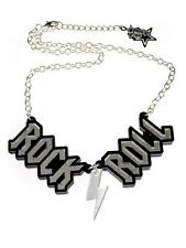 New Punky Pins Rock n Roll Necklace