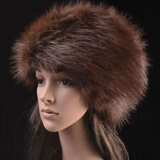 Posh Hight Top  Quality  Faux  Fox  Fur Warm Glamour Ski Hat for Winter :)