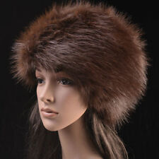 Posh Hight Top  Quality  Faux  Fox  Fur Warm Glamour Ski Hat for Winter :