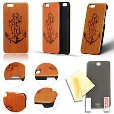 NATURAL HARD WOOD BAMBOO WOODEN CASE COVER FOR IPHONE 6 / 6S - US SELLER