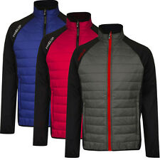 PROQUIP 2015 Full Zip Therma Tour Quilted Insulated 2015 Mens Golf Jacket