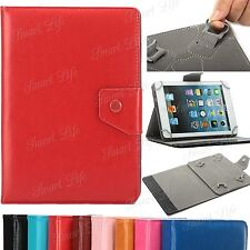 Universal Leather Folding Stand Case Cover For 25.4cm 25.7cm Android Tablet PC