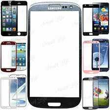 FRONT OUTER SCREEN GLASS LENS REPLACEMENT FOR SAMSUNG GALAXY NOTE 2/3 S3 MINI S4