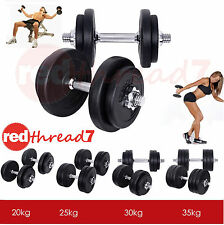 Dumbbell Set Weight Lifting Dumbbells Home Gym Fitness Exercise Adjustable Fit