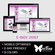 eBay Listing Template Professional Auction Design Mobile Friendly HTML 2017 *5
