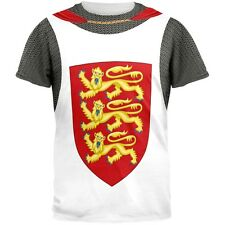 King Richard Lionheart Knight Costume All Over Adult T-Shirt