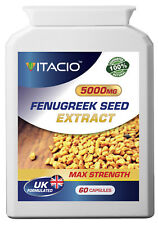 Fenugreek Seed Extract 5000mg Pills FEMINIZER Female Hormone Sexual Libido