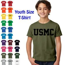 USMC Marines Physical Training US Military PT Boys Girls YOUTH FIT T Shirt
