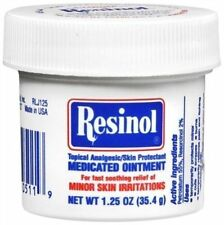 Resinol Medicated Ointment 1.25 oz OR 3.3 oz Plastic Jar by Resical New