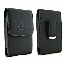 For Kyocera Cell Phones Vertical Leather Belt Clip Case Pouch Cover Holster