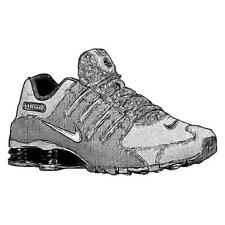 Nike Shox NZ - Men's Running Shoes (DK GY/Anthracite/BK/Metallic Iron Width:Med