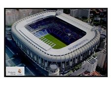 Real Madrid FC Gloss Black Framed Bernabeu Stadium Maxi Poster 61x91.5cm