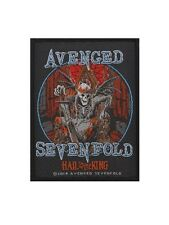Avenged Sevenfold Hail To The King Black A7X Patch