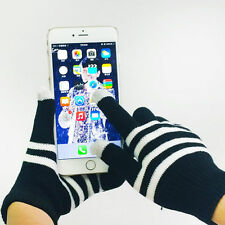 1 Pair New Unisex Winter Magic Touch Screen Knitted Gloves Smartphone Texting n5
