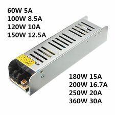 AC 110-220V TO DC 12V Switch Power Supply Driver adapter For LED Strip Light