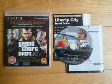 Grand Theft Auto IV Complete Edition PS3. Sony Playstation 3. With manual