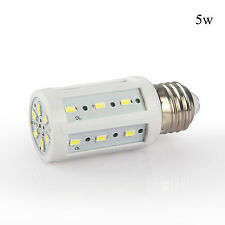 LED Corn Light Bulb SMD 5730 E27 E26 15W 12W 10W 8W 5W Power White Lamp DC 12V