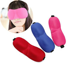 3D Sponge EyeShade Sleep Eye Mask Cover Eyepatch Blindfolds Sleeping Aids new