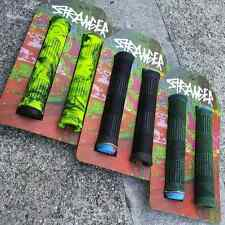 STRANGER BMX BIKE QUAN KRATON YELLOW/BLACK GRIPS CULT KINK SCOOTER ANIMAL ODI