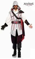ASSASSINS CREED EZIO AUDITORE BROTHERHOOD TEMPLAR HALLOWEEN COSTUME COSPLAY S-XL
