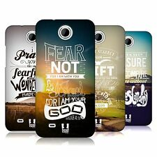HEAD CASE DESIGNS CHRISTIAN SNAPSHOT HARD BACK CASE FOR HTC PHONES 3